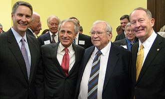 Howard Baker - Howard Baker with Bill Frist, Bob Corker, and Lamar Alexander in 2007.