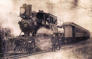 New Hope, Pennsylvania - The first train to New Hope, 1891