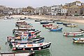 Fishing Boats in St Ives Harbour - geograph.org.uk - 1736136.jpg