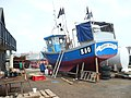 Fishing boat by Whitstable Harbour - geograph.org.uk - 1368277.jpg
