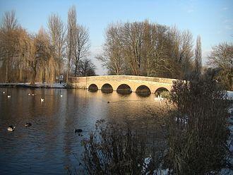 Ruxley - Five Arches Bridge, Foots Cray Meadows