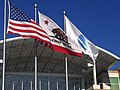 Flags At 1 Infinite Loop Cupertino CA. - panoramio.jpg