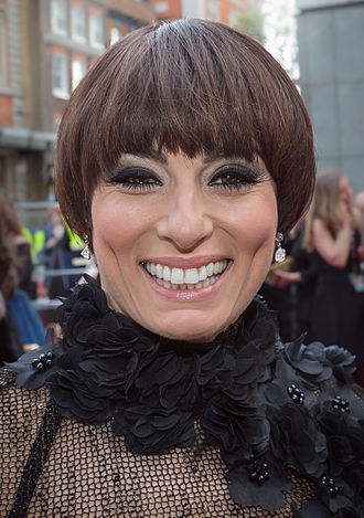 Flavia Cacace - Flavia Cacace at the 2015 Laurence Olivier Awards