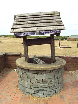 Wishing well - Fleetwood Round Table wishing well, The Esplanade, Fleetwood, Lancashire, England
