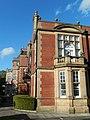 Fleming Memorial Hospital, façade and south-west corner.jpg