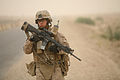 Flickr - DVIDSHUB - Marines Conduct Security Patrol Around Combat Outpost Viking, Iraq.jpg