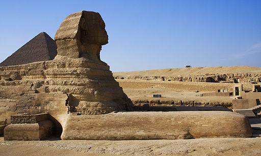 Flickr - IDS.photos - Sphinx and pyramid, Cairo (1)