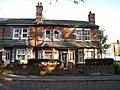 Flint cottages - Norn Hill - geograph.org.uk - 1802475.jpg