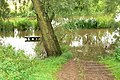 Flooded tow path - geograph.org.uk - 506405.jpg