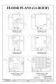 Floor Plans (14-Roof) - Marshall Space Flight Center, Saturn V Dynamic Test Facility, East Test Area, Huntsville, Madison County, AL HAER ALA,45-HUVI.V,7C- (sheet 8 of 20).png