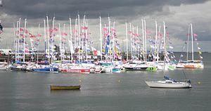 Solitaire du Figaro - 2011 Fleet in Dún Laoghaire