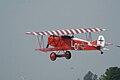 Fokker DVII Ernst Udet Takeoff 02 Dawn Patrol NMUSAF 26Sept09 (14597948384).jpg