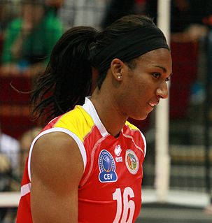 Foluke Akinradewo volleyball player
