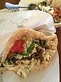 Food 摩洛哥牛肉批塔, Moroccan Burger, 沙巴巴中東美食, 沙巴巴, Sababa Pita Bar, 台北 (20819746188).jpg