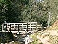 Footbridge on Caerfanell river - geograph.org.uk - 401422.jpg