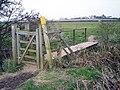 Footbridge over Inchford Brook, - geograph.org.uk - 1802468.jpg