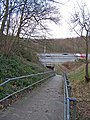 Footpath under the motorway - geograph.org.uk - 731296.jpg