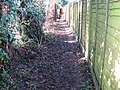 Footpath west between Churchfield Farm on the left and houses in Holly Close at West Chiltington - geograph.org.uk - 1671538.jpg