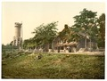 Foresters' House and Soldiers' Memorial, Jena, Thuringia, Germany-LCCN2002720735.tif