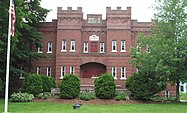 Former Armory, Company E First Infantry Vemont National Guard, Bellows Falls, Vermont