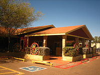 Former Cotulla Style Pit BBQ, Laredo, TX Picture 1022