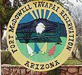 Fort McDowell Yavapai Nation-Fort McDowell Yavapai Reservation sign-1.jpg