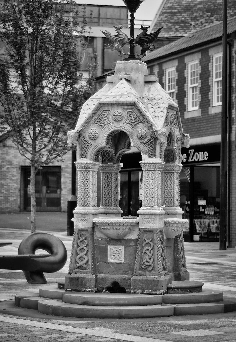 Fountain, Taff St, Pontypridd
