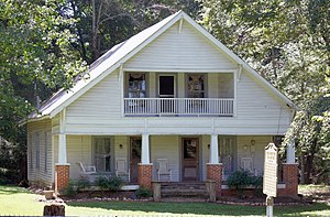 National Register of Historic Places listings in Forsyth County, Georgia - Image: Fowler Family Home, Forsyth County, GA, US