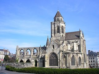 Church of Saint-Étienne-le-Vieux Church in Caen, France