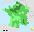 France total fertility rate by region 2014.png