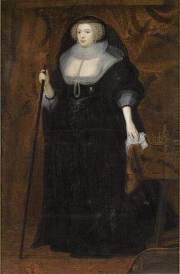 Frances Stewart Duchess of Richmond as a Widow