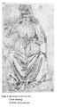 Francesco Botticini, Christ Blessing, Drawing.png