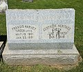 Francis Harvey and Gertrude Heritage Green Grave.jpg