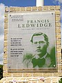 Francis Ledwidge memorial near Artillery Wood Military Cemetery 02.jpg