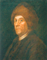 Franklin in his fur cap.png