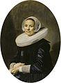 Frans Hals - Portret van een onbekende vrouw (1638).jpg
