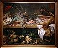 Frans snyders, natura morta con frutta, verdura e cacciagione, fiandre 1635-37.jpg