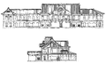 Franz Baltzer's Original Plan of Departure side of Tokyo station.png
