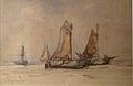 Franz Courtens - Boten op het strand.JPG