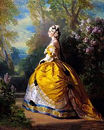 Franz Xaver Winterhalter The Empress Eugenie