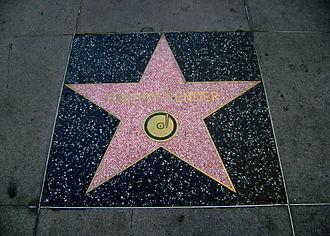 Freddy Fender - Fender's star on the Hollywood Walk of Fame