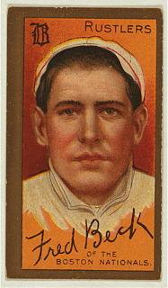 Fred Beck American baseball player