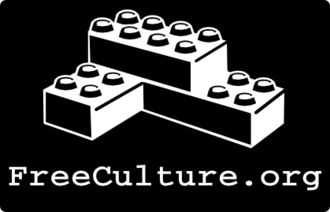 Free culture movement - Student organization FreeCulture.org, inspired by Lessig and founded 2003. The Building blocks are a symbol for reuse and remixing of creative works, used also as symbol of the Remix culture.