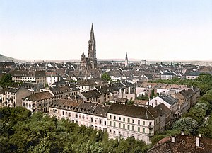 University of Freiburg - Freiburg around 1900