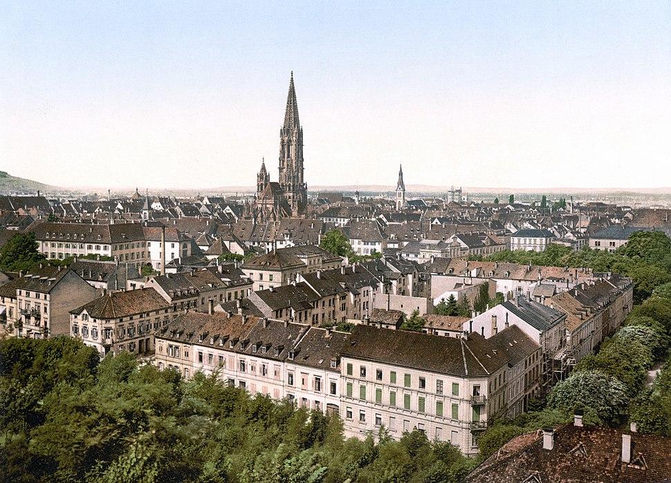 Freiburg Breisgau um 1900