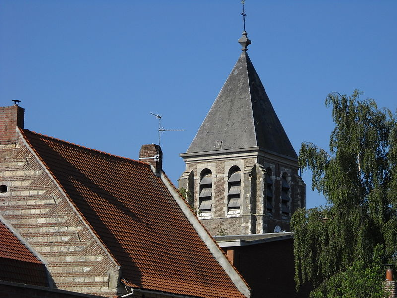 The church of Fretin, Nord, France.