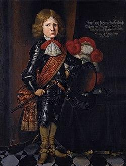 Friedrich Wilhelm III, duke of Saxe-Altenburg (1657-1672), by German School of 1662.jpg