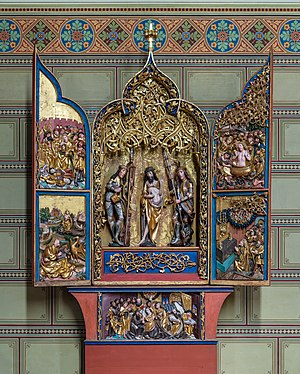 Saint John Altarpiece, Friesach
