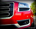Front View Grill & Headlights - 2013 GMC Acadia SLT (8675593624).jpg