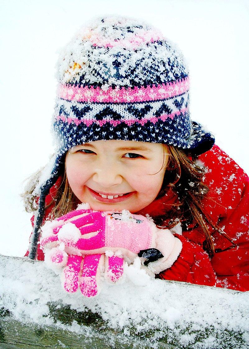 Frosty smiles